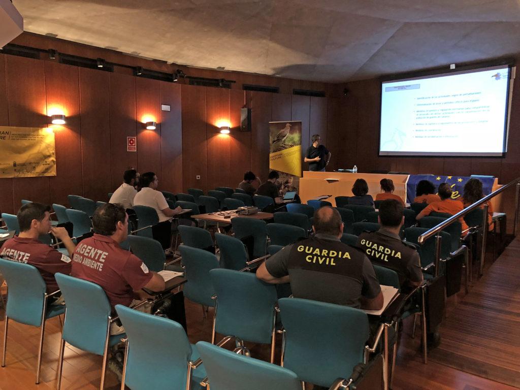 Un momento di un workshop a Fuerteventura
